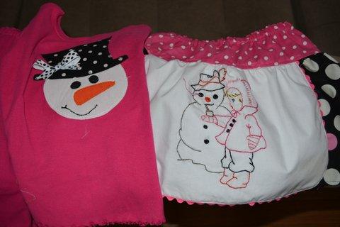 snowman party 2