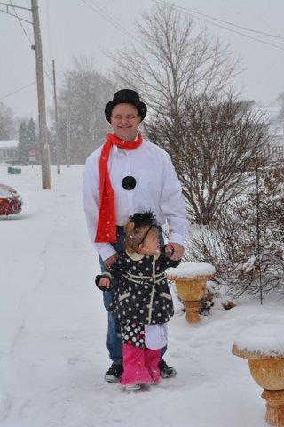 snowman party 5