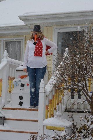 snowman party 6