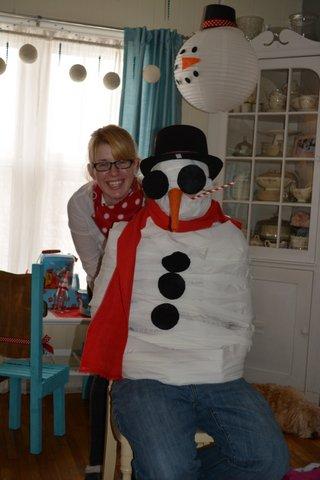 snowman party29