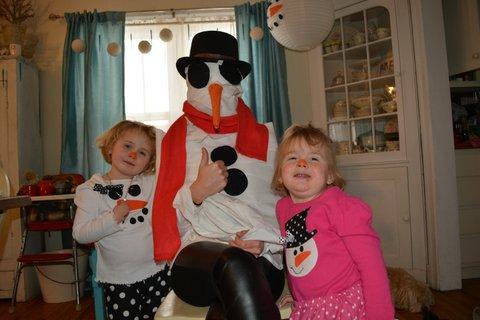 snowman party30