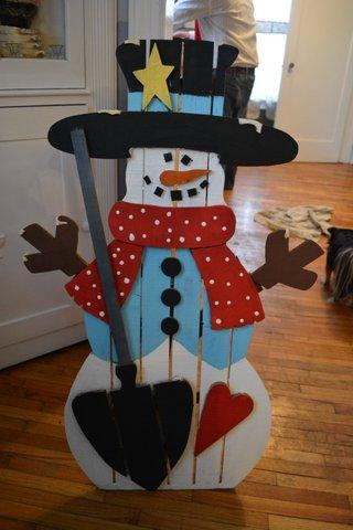 snowman party35