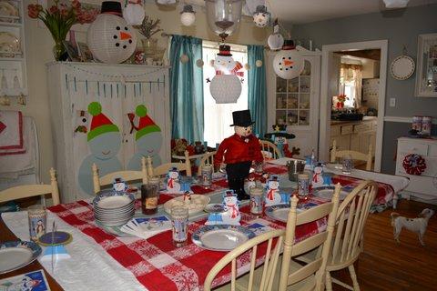 snowman party7