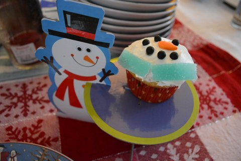 snowman treat